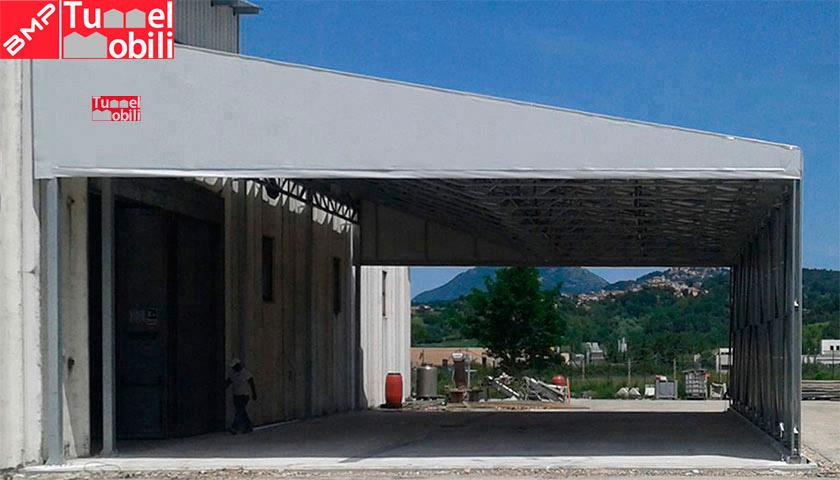 capannoni mobili industriali realizzati su misura per le aziende del Piemonte e della Liguria
