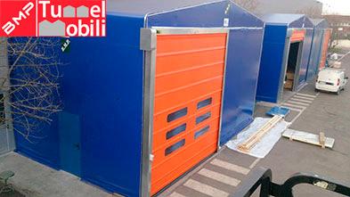 accessori e particolari per capannoni mobili in Liguria e Asti e Alessandria grazie alla consulenza di MGA