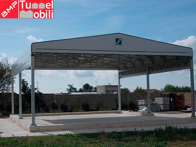 capannoni mobili pvc fornitura combustibili comburenti
