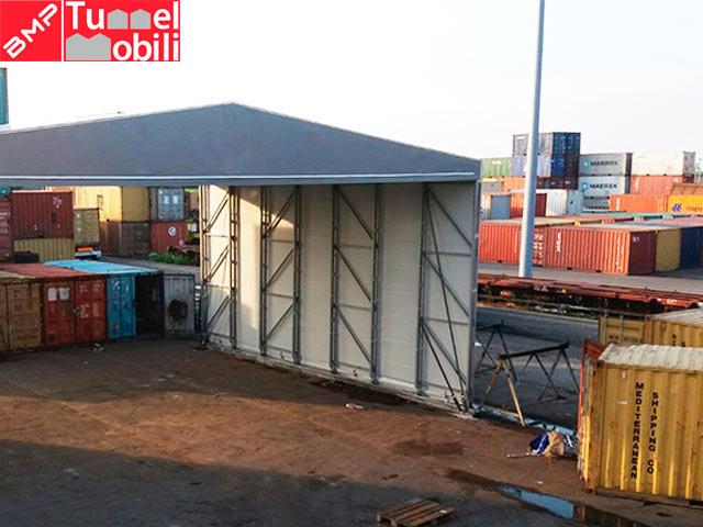 capannoni mobili pvc personalizzati