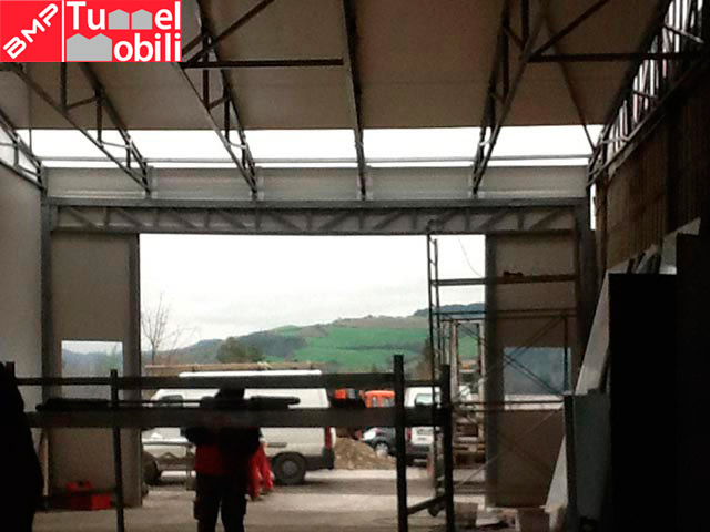 capannoni mobili servizio stoccaggio materiali