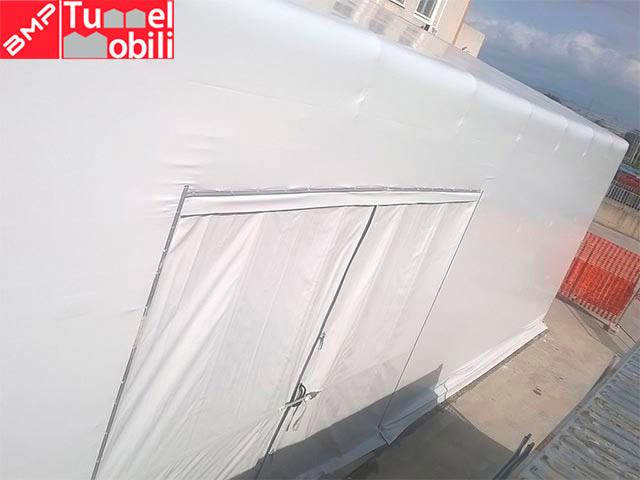 capannoni mobili in pvc officine riparazioni automezzi