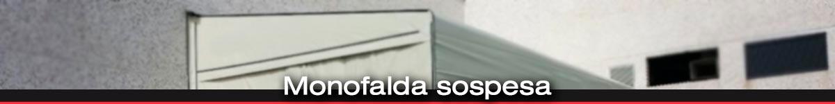 Coperture mobili a monofalda sospesa in Liguria e prov di Asti e Alessandria