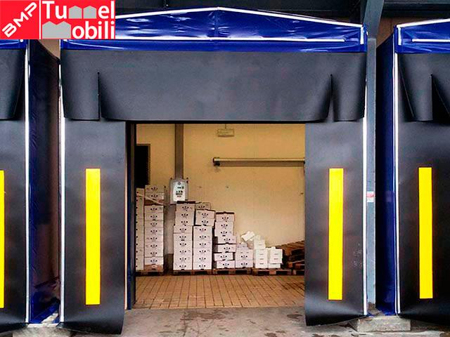 portali sigillanti tunnel mobili