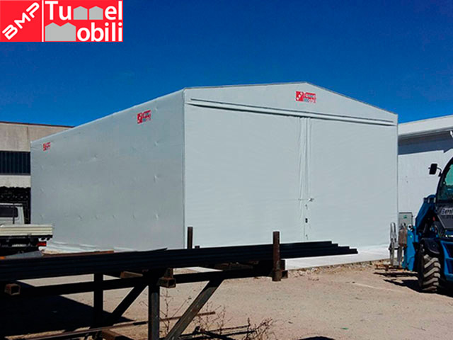 capannoni mobili industriali firmati Tunnel Mobili