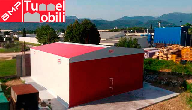 capannoni mobili a noleggio