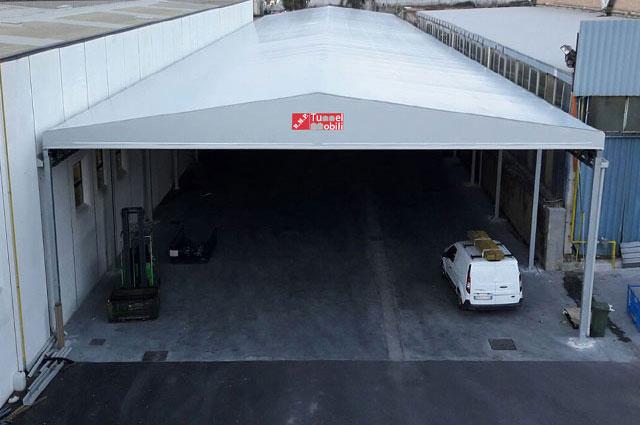 tunnel di collegamento industriale